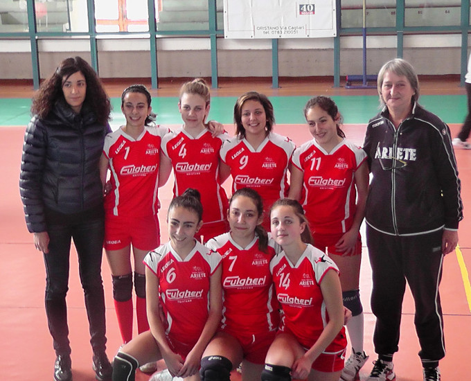 Ariete Oristano Under 14 · 2014