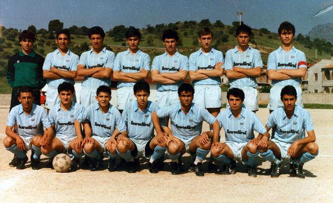 Folgore Calcio metà anni ottanta