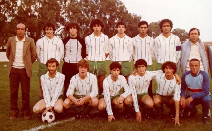 Tavolara Calcio anni ottanta