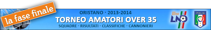 banner Torneo Amatori 2013-2014 FIGC - finali