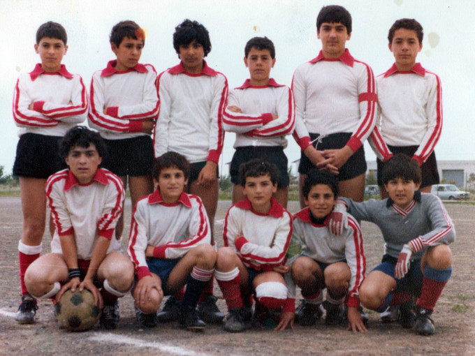 Don Bosco Calcio - Oristano fine anni settanta