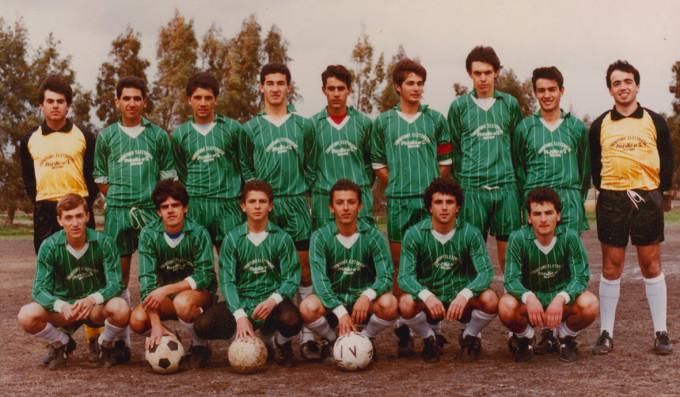 Folgore Calcio fine anni ottanta