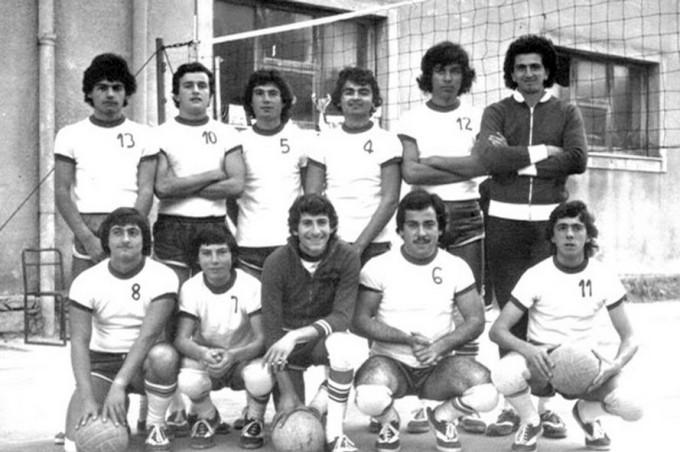 Pallavolo Sulcis - Cortoghiana anni settanta