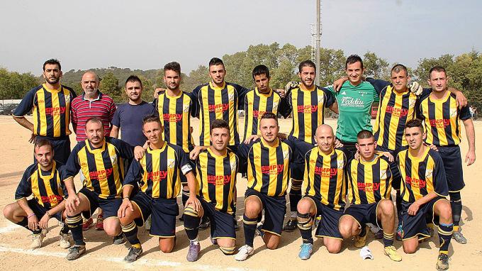 Tonarese Calcio · Tonara 2014-2015
