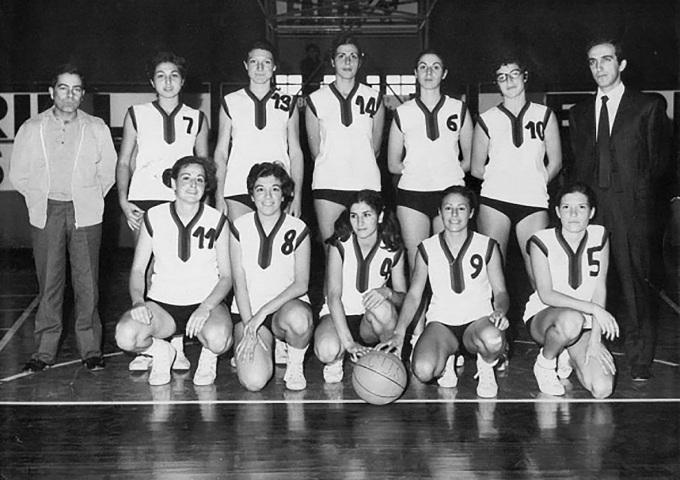 Cus Cagliari Basket - anni settanta