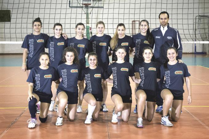 Ariete Volley Prima Divisione - Oristano 2014-2015