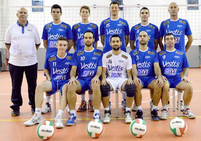 Ariete Volley Serie D - Oristano 2014-2015