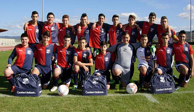 Polisportiva Isili Allievi 2014-2015