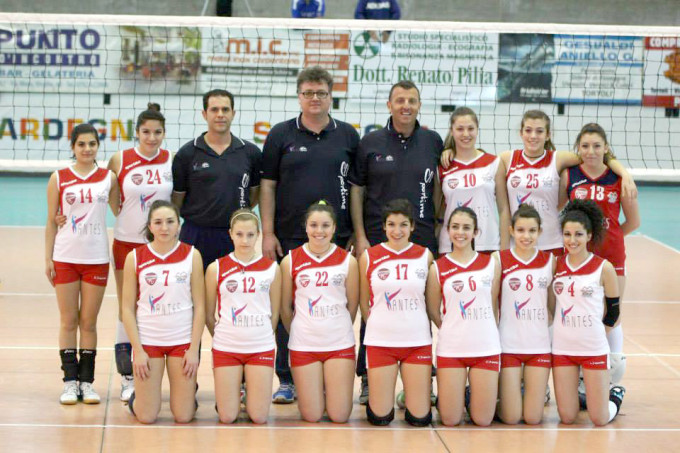 Antes Ogliastra Volley Under 18 - 2013-2014