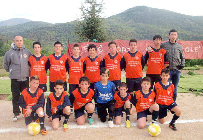 Polisportiva Ovodda Esordienti - 2013-2014