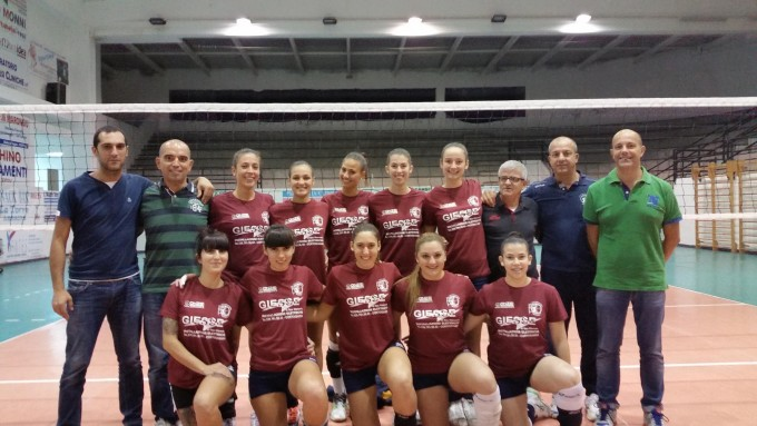 S.Andrea Volley Gonnesa Serie D - 2014-2015