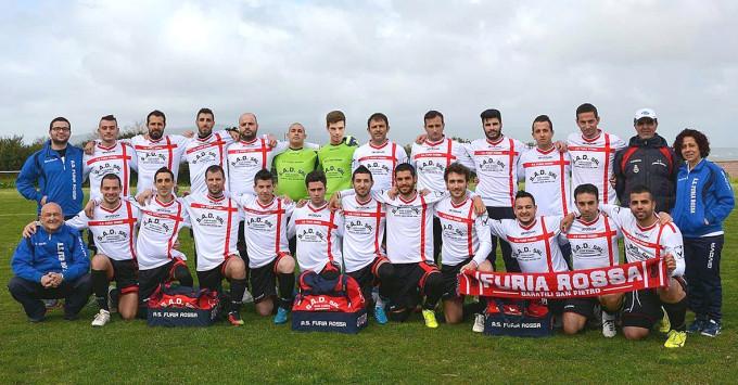 Furia Rossa · Baratili San Pietro 2014-2015 TRE