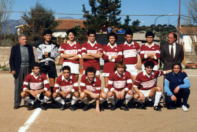 Oschirese Calcio anni ottanta