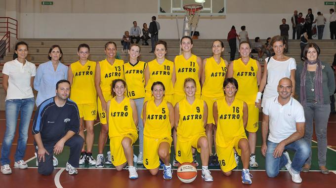 Astro Cagliari 2011- 2012