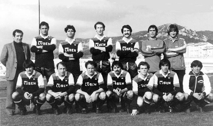 Carbonia Calcio - 1981-1982