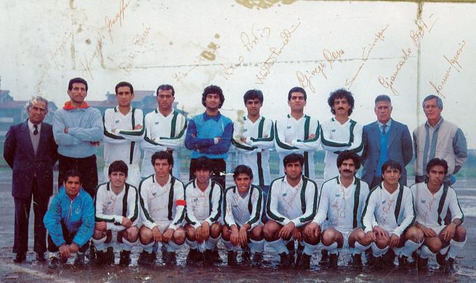 Gonnesa Calcio - 1985-1986