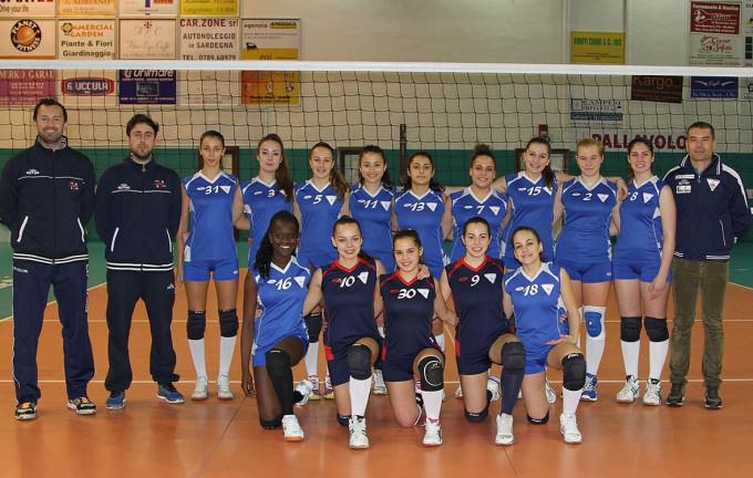 Hermaea Olbia Prima Divisione Femminile · 2014-2015
