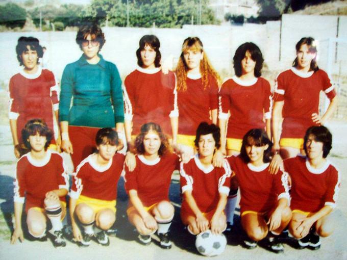 Nurallao Calcio Femminile · anni ottanta