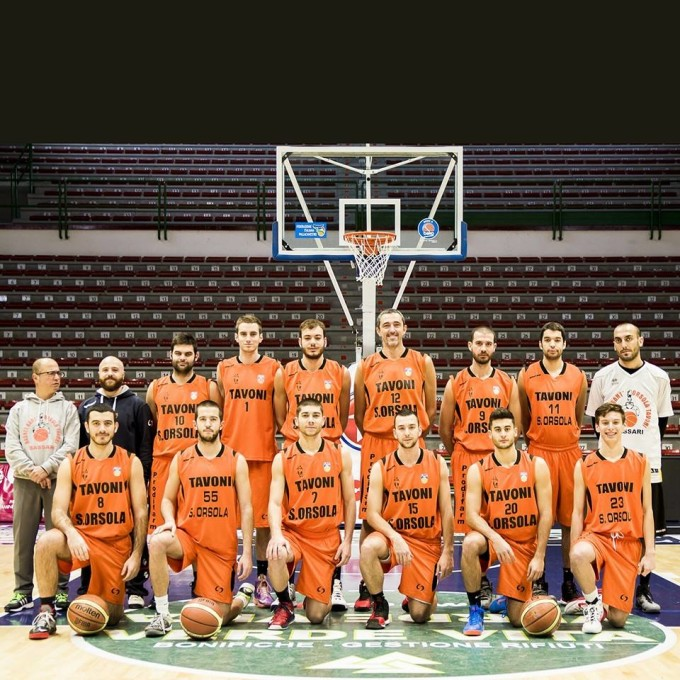 Basket Sant'Orsola-Tavoni - Sassari 2014-2015