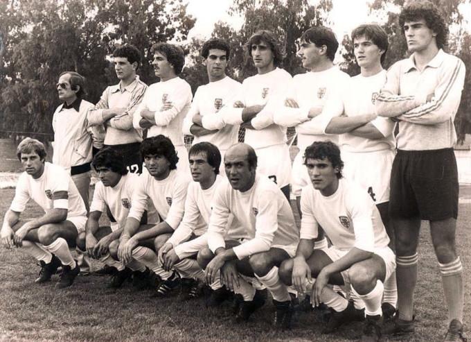 Olbia Calcio fine anni ottanta