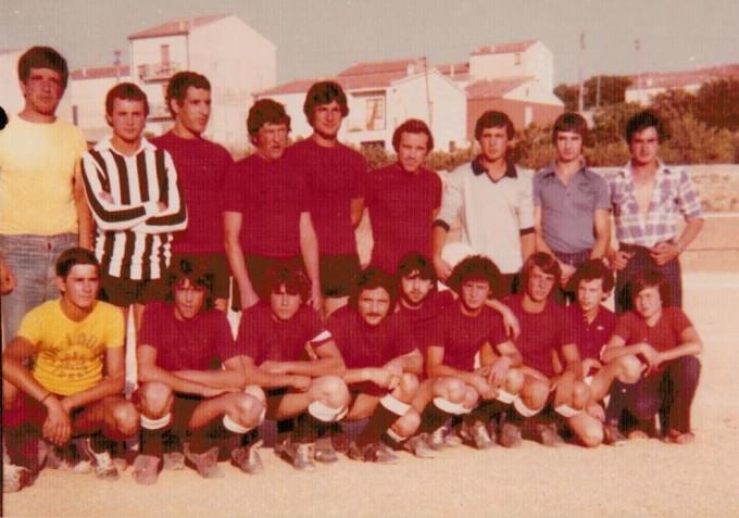 Lauras Calcio - Luras anni settanta CINQUE
