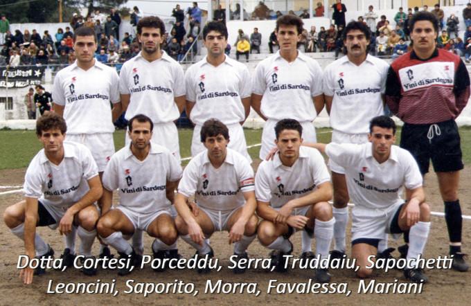 Olbia 1988-1989