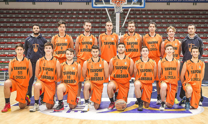 Basket Sant'Orsola-Tavoni · Sassari 2015-2016
