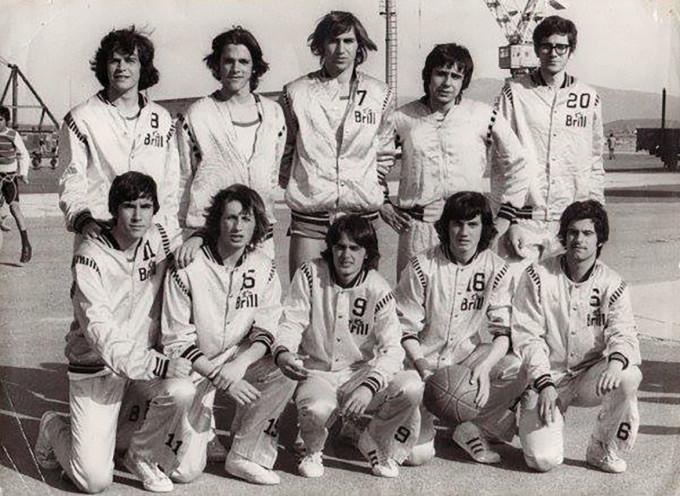 Brill Basket - Cagliari 1972-1973