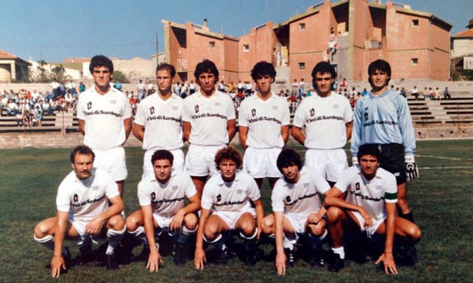 Olbia Calcio 1986-1987