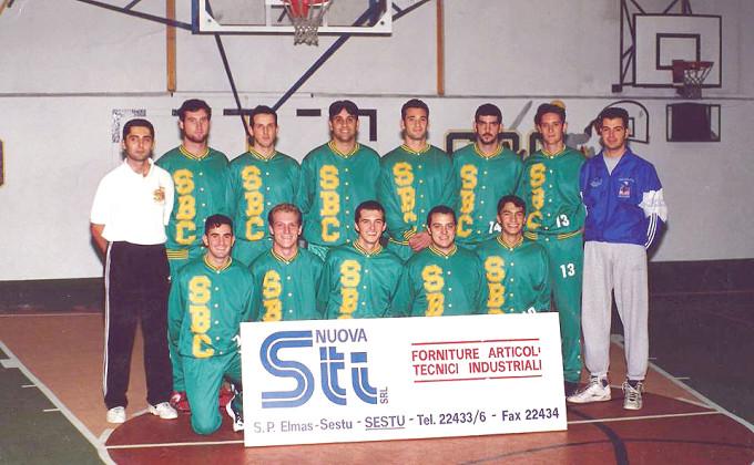 Scuola Basket Cagliari 1996-1997