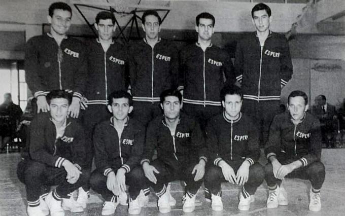 Esperia Basket 1958-1959