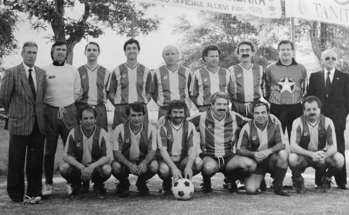Sguotti Calcio - trentennale della vittoria