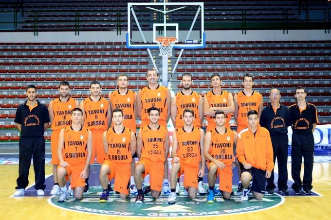 Basket Sant'Orsola-Tavoni · Sassari 2013-2014