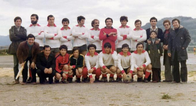Perdaxius Calcio - anni settanta