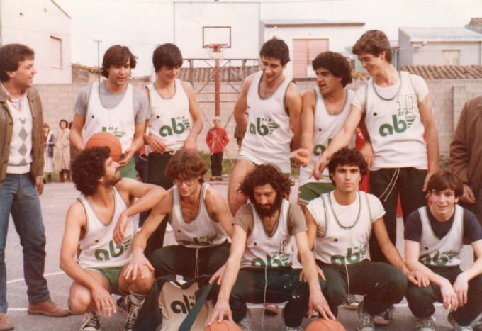 Terralba Basket anni settanta