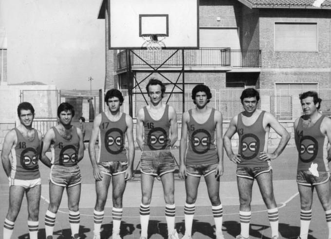 Terralba Basket primi anni settanta