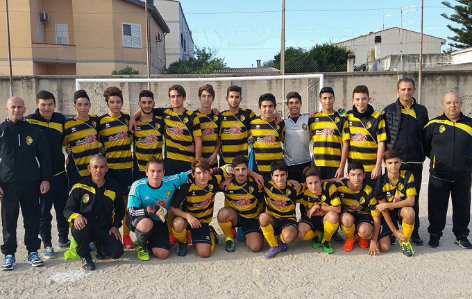 Atletico Cabras Allievi 2015-2016