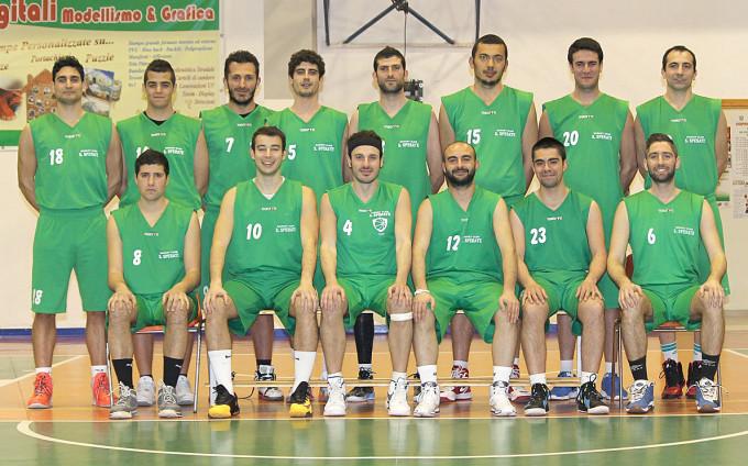 Basket Club San Sperate serie D 2013-2014
