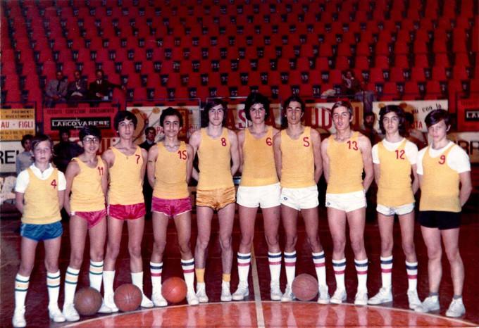 Brill Basket Allievi - Cagliari 1973-1974