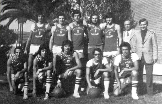 Gruppo Sportivo Aquila - Cagliari metà anni settanta