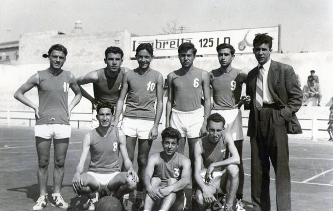 Gruppo Sportivo Olimpia - Cagliari anni sessanta