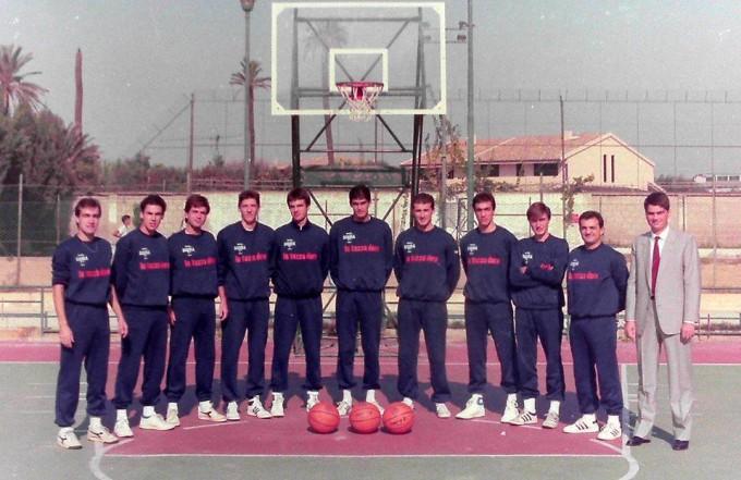 Sigma Basket Cagliari fine anni ottanta