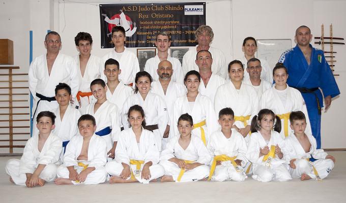 Judo Club Shindo Ryu - Oristano 2016.