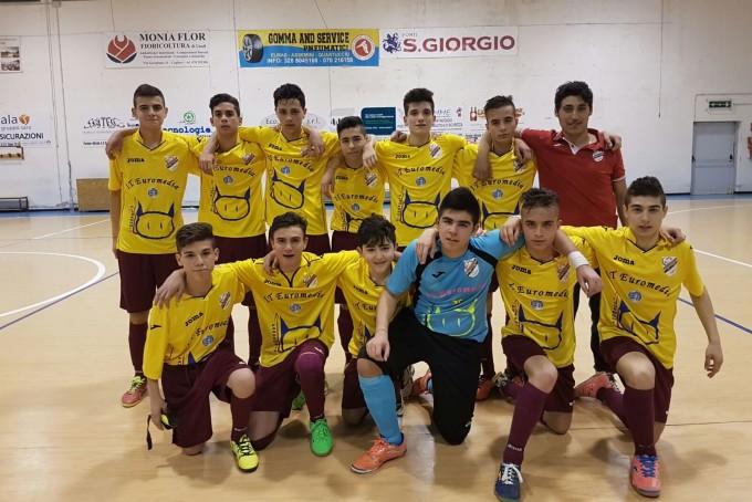 Norbio Futsal Cagliari FFC Allievi · Villacidro 2015-2016