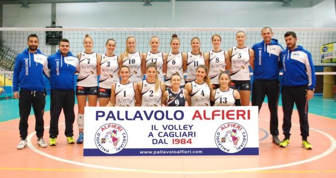 Pallavolo Alfieri Cagliari · 2015-2016