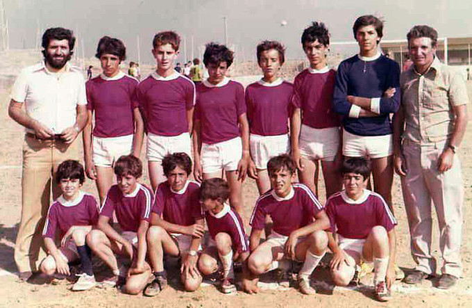 San Teodoro Calcio Allievi - anni sessanta
