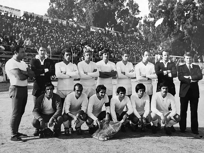 Olbia Calcio anni settanta