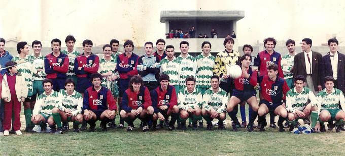 Rappresentativa Villasor - Cagliari Calcio - Serramanna 1991 DUE