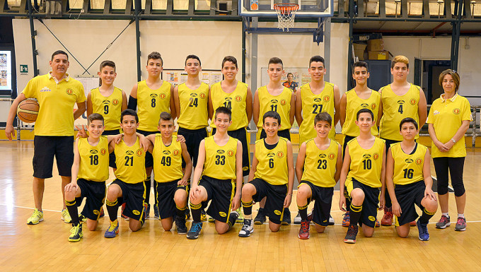 Basket San Salvatore Under 14 - Selargius 2014-2015