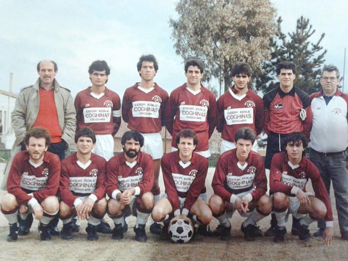 Oschirese Calcio - anni ottanta